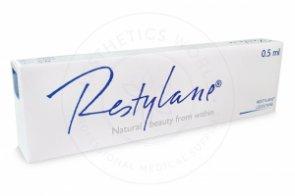 RESTYLANE® .5ml w/Lidocaine .5ml 1 pre-filled syringe