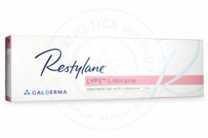 RESTYLANE® LYPS™ Lidocaine 1ml 1 pre-filled syringe