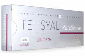 TEOSYAL® PURESENSE ULTIMATE 3mL 66mg, 9mg 1-3ml prefilled syringe