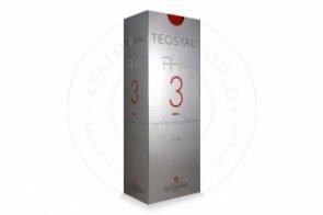 TEOSYAL® RHA3 23mg/ml, 3mg/ml 2-1ml prefilled syringes